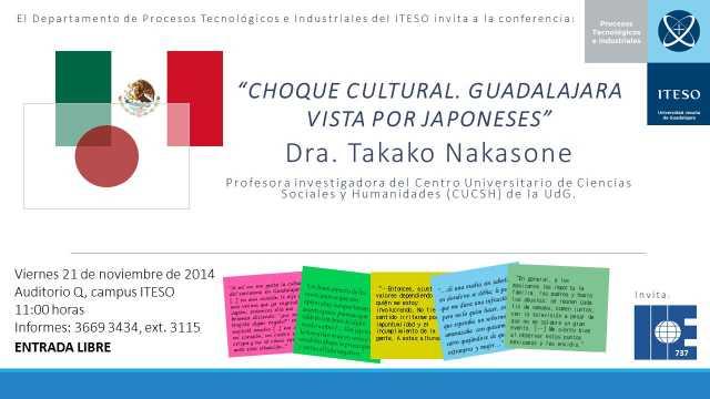 Conferencia Dra. Takako Nakasone