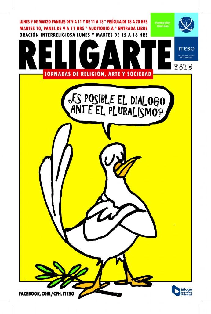 Cartel Religarte.