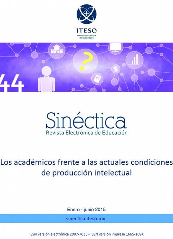 Portada de la revista Sinéctica núm. 44 disponible en www.sinectica.iteso.mx