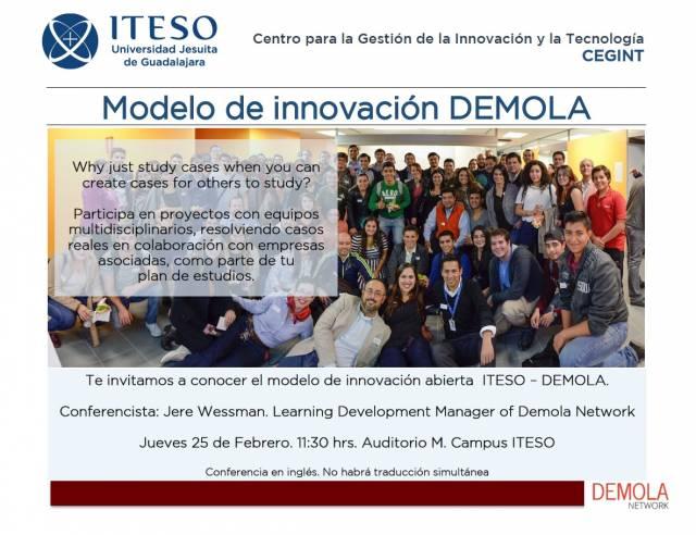 Modelo de innovación Demola
