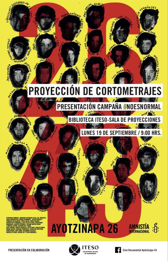 Presentación de la campaña #Noesnormal de Amnistia Internacional.